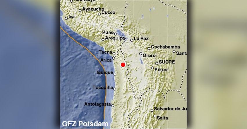 TEMBLOR EN CHILE: Sismo de magnitud 5.1 (Hoy Sábado 30 Diciembre 2017) Terremoto EPICENTRO Tarapacá - Camiña - ONEMI - www.onemi.cl