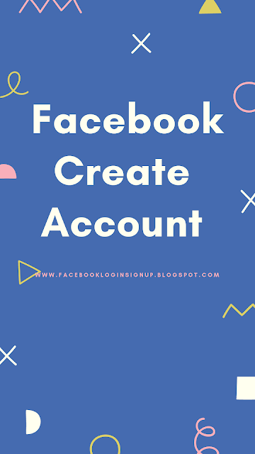 Facebook sign in create account