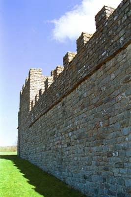 O imp rio romano adriano for A muralha de adriano