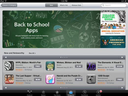 Apple Introducing A New Style For The App Store Category
