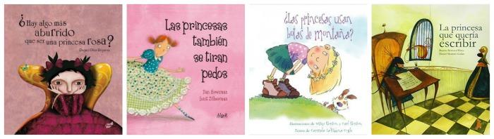 selección cuentos coeducativos, anti princesas, romper estereotipos