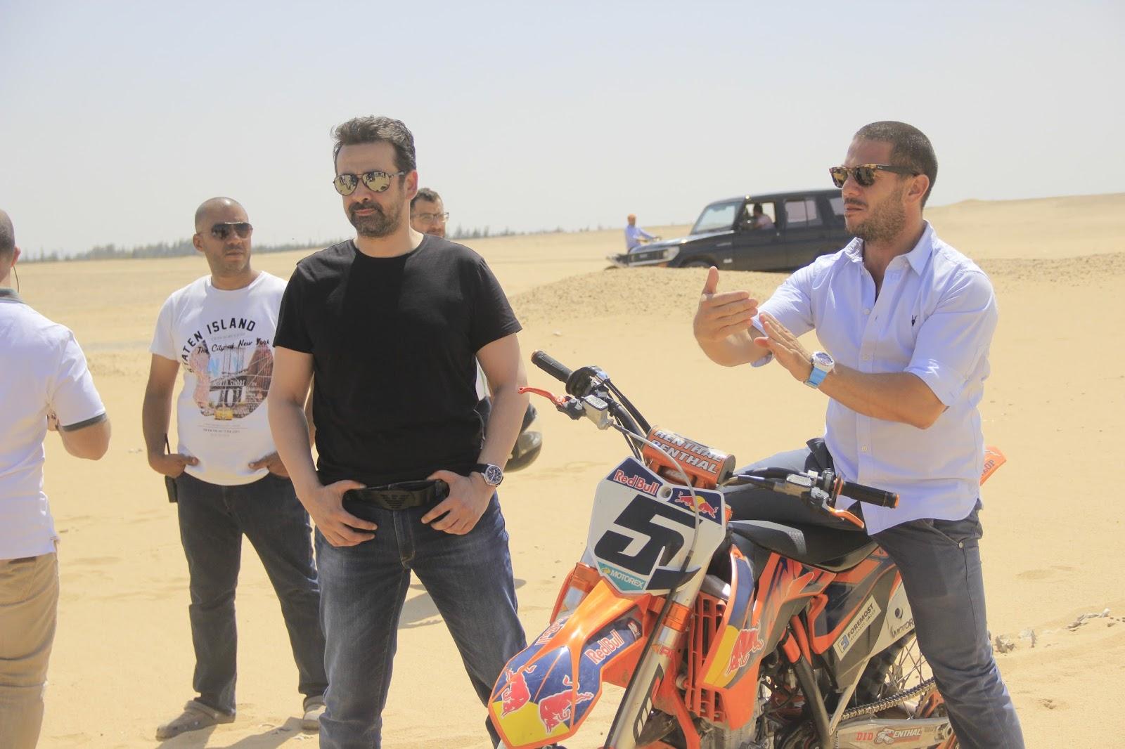 Egyptian Cinema Amr MacGyver Sherif Awad