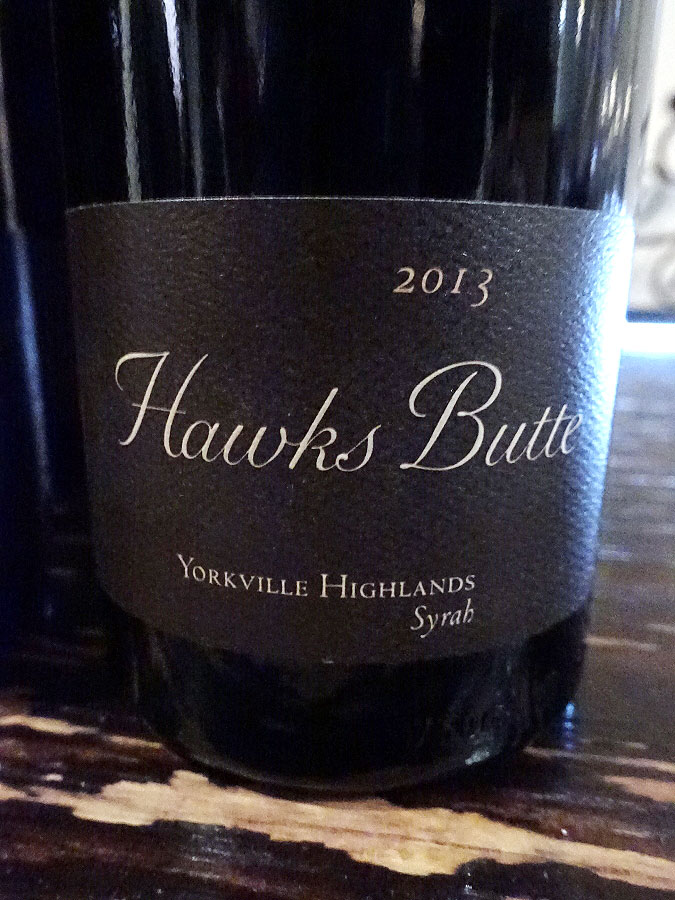 Copain Hawks Butte Syrah 2013 (91 pts)