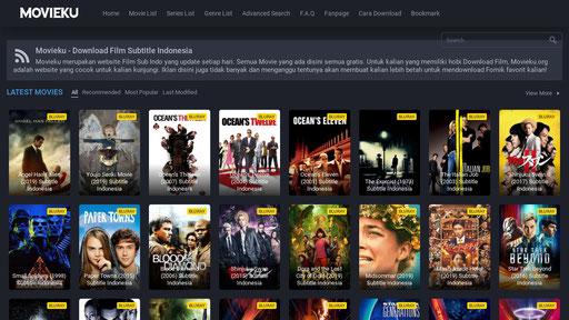 Website streaming film gratis situs download film indo