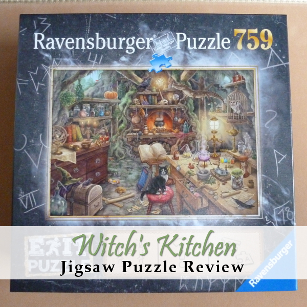 Ravensburger Exit Puzzle Review Witch's Kitchen Jigsaw Escape Room Puzzles Witches Witch Theme