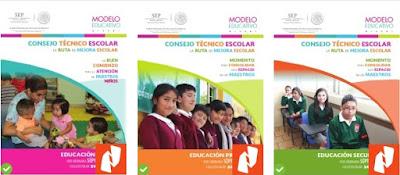 Guía de Consejo Técnico Escolar  CTE Séptima Sesión: PREESCOLAR, PRIMARIA Y SECUNDARIA