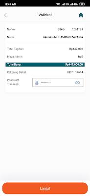 cara bayar cicilan akulaku dengan menggunakan Mbanking BNI