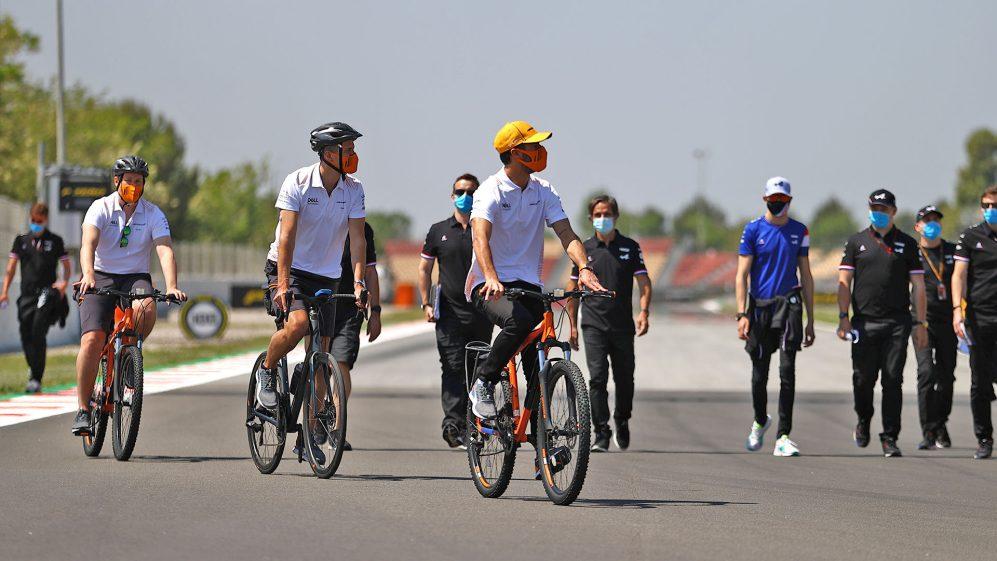 Ricciardo admitiu que gostou da familiaridade do Barcelona