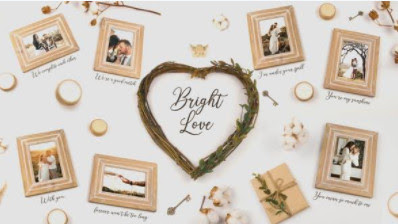 Projects – VideoHive – Bright Love – 25745619 [AEP]