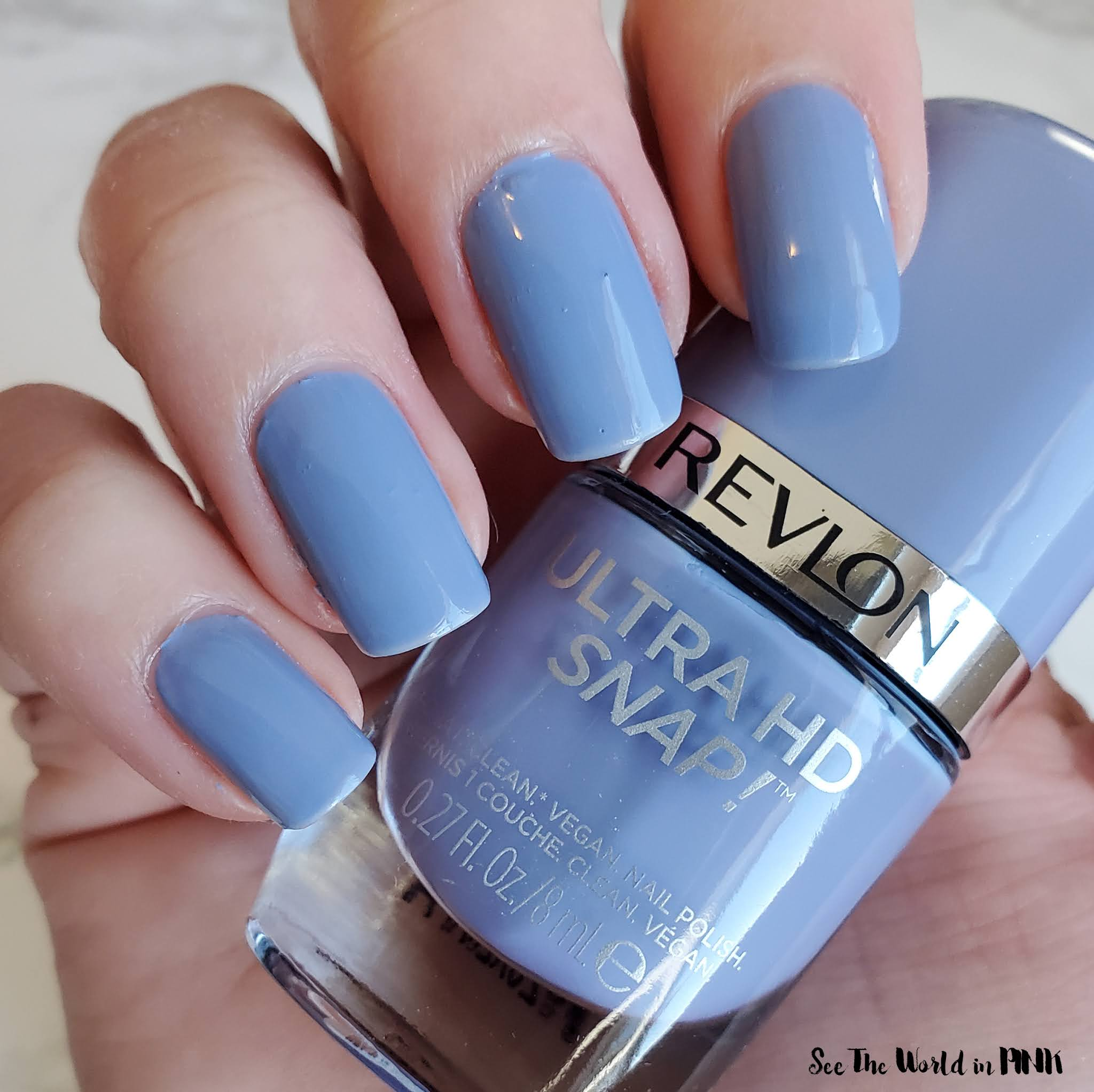 Manicure Monday - Easter Dinosaur Eggs Nails & Revlon Ultra HD Snap polish!