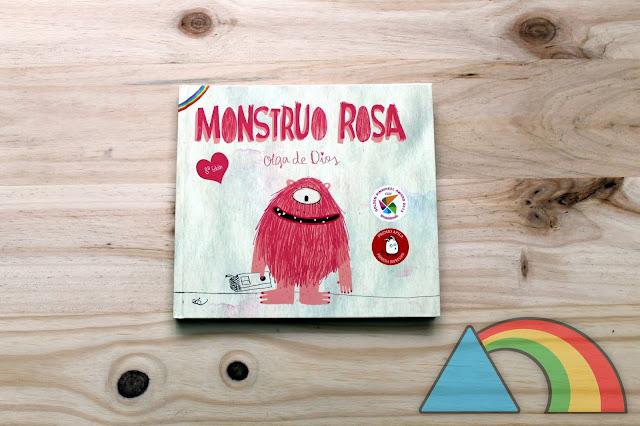"""Portada del libro """"Monstruo Rosa"""" de Olga de Dios"""
