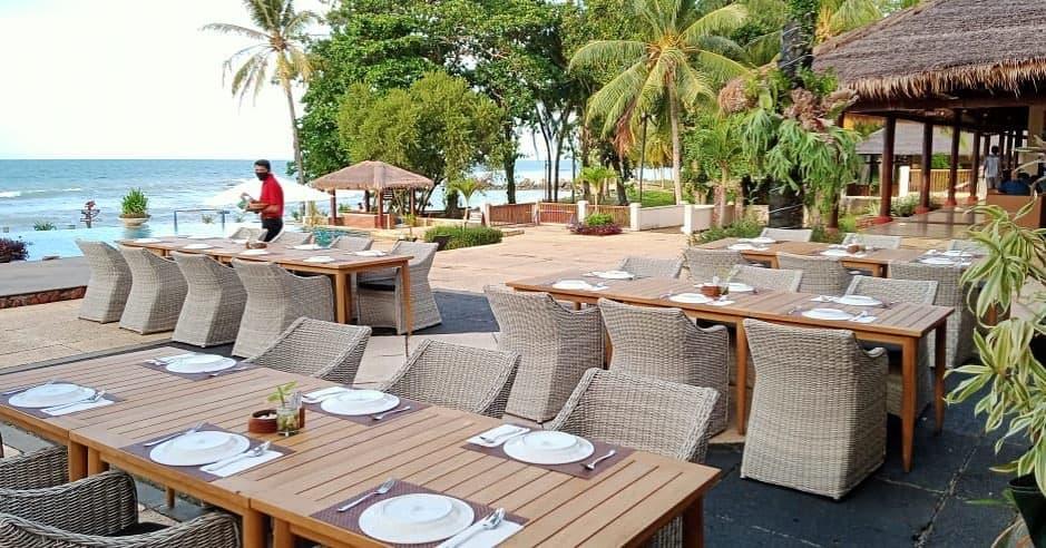 restoran tanjung lesung resort