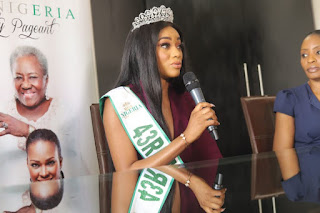 Miss Nigeria Queen Beauty Etsanyi Protest Against Rape, Solicit For Justice