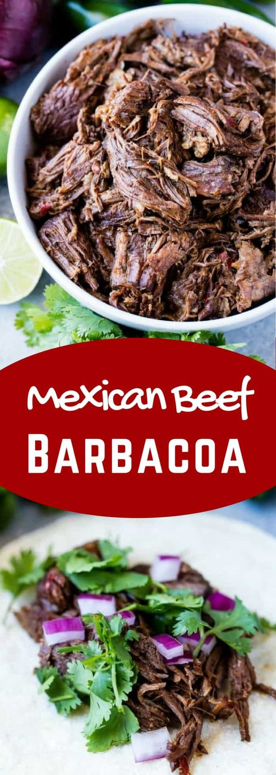 THE BEST MEXICAN BEEF BARBACOA RECIPE
