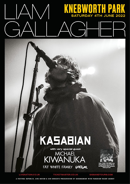 Liam Gallagher Knebworth Park June 2022