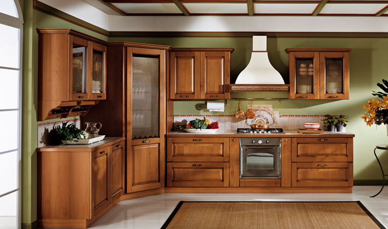 Desain Dapur bergaya klasik