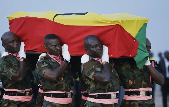 Kofi Annan's remains arrive in Ghana