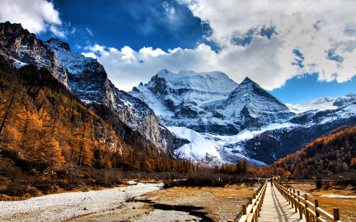 kış manzaralı resimler