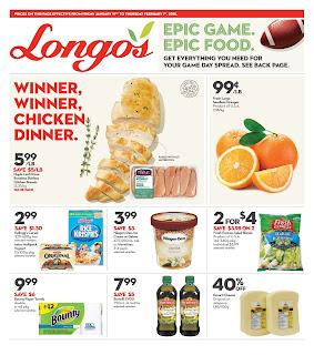 Longo's Weekly Flyer January 18 - 24, 2018