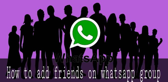 How To Add Friends On WhatsApp Group