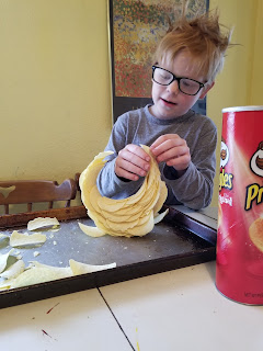 Pringle STEM challenge, mastocytosis reaction, food allergies, via refabulous