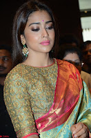 Shriya Saran Looks Stunning in Silk Saree at VRK Silk Showroom Launch Secundrabad ~  Exclusive 181.JPG