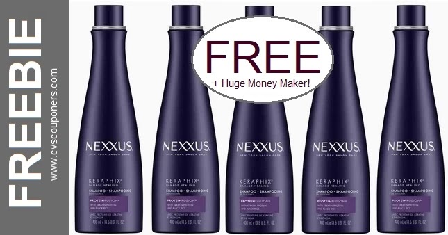 FREE Nexxus Shampoo CVS Deal 7-18-7-24