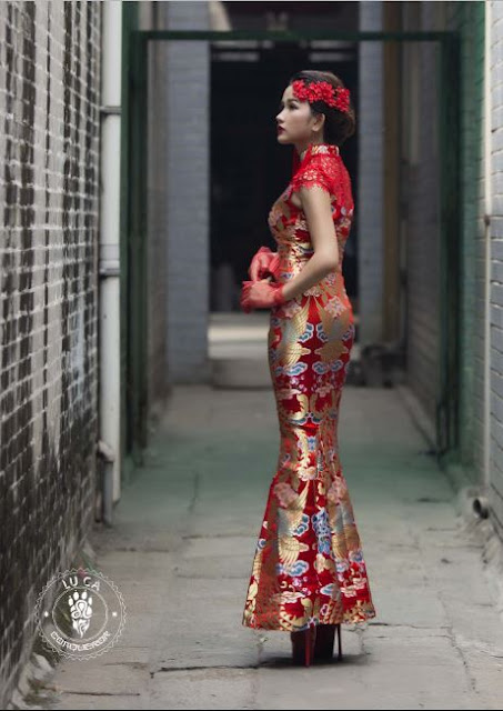Mary Huynh in Cheongsams Dress