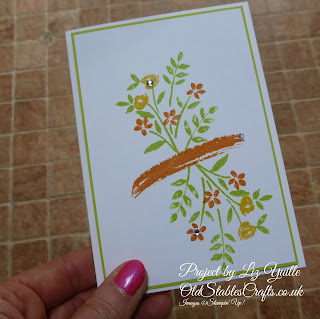 Number of Years Card stampin up