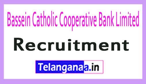 Bassein Catholic Cooperative Bank Limited BCCB Recruitment