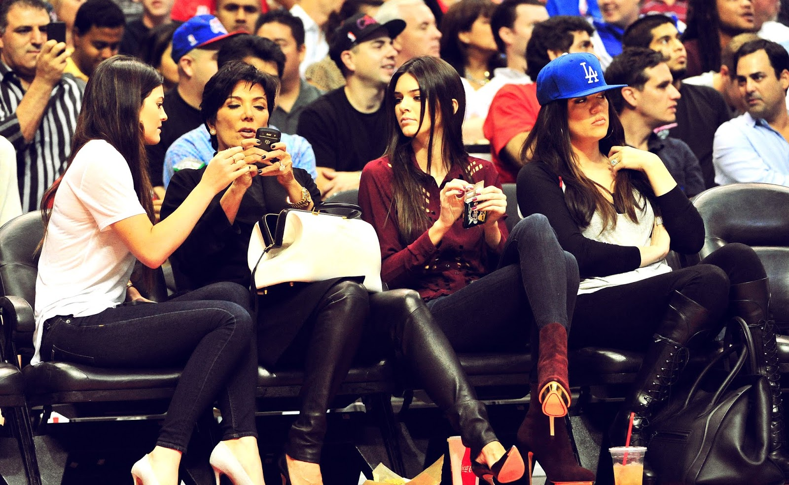18 - Watching The Los Angeles Clippers Game on October 17, 2012