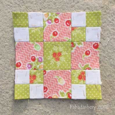 The Farmer's Wife Sampler Quilt (20's)  Block 48 Homeward Bound