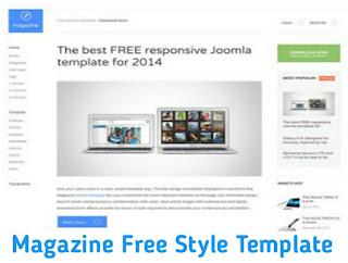 Magazine Free Style Template Free