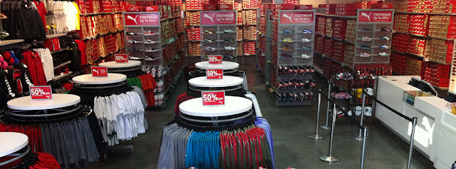 Sports Shops in the Outlet Premium North
