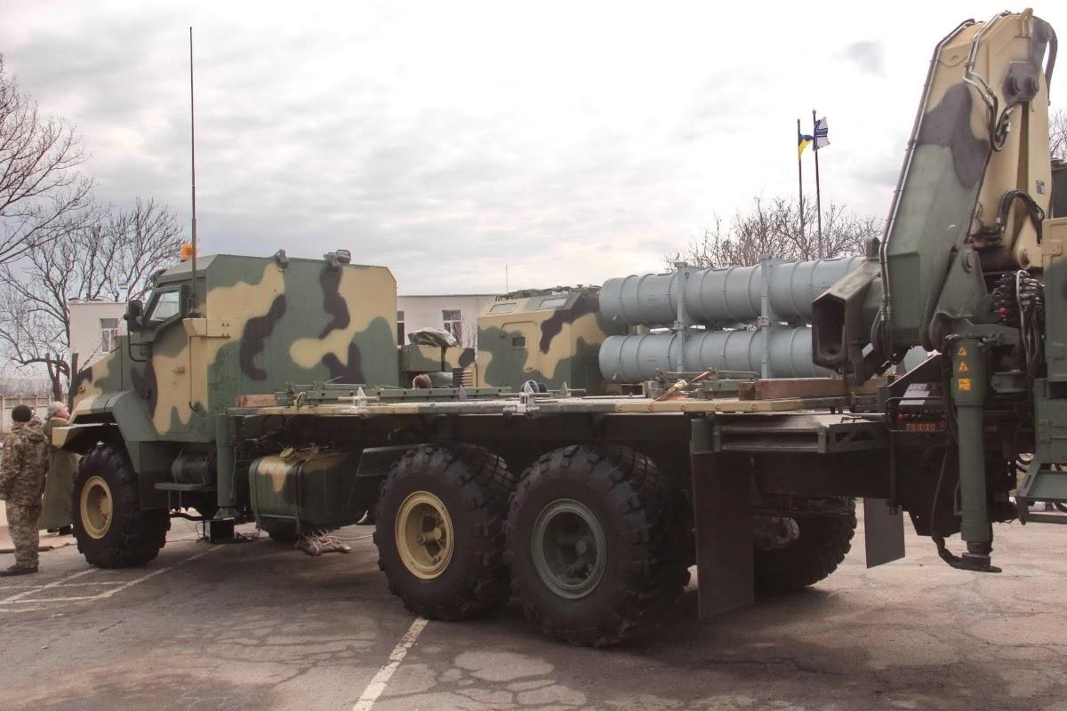 ВМСУ отримали елементи ракетного комплексу Нептун