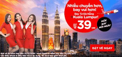 Air Asia siêu khuyến mãi đi Malaysia