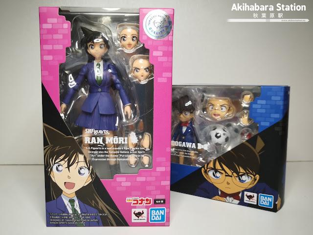 """Figuras: Reseña del S.H.Figuarts de Ran Mouri de """"Detective Conan"""" - Tamashii Nations"""