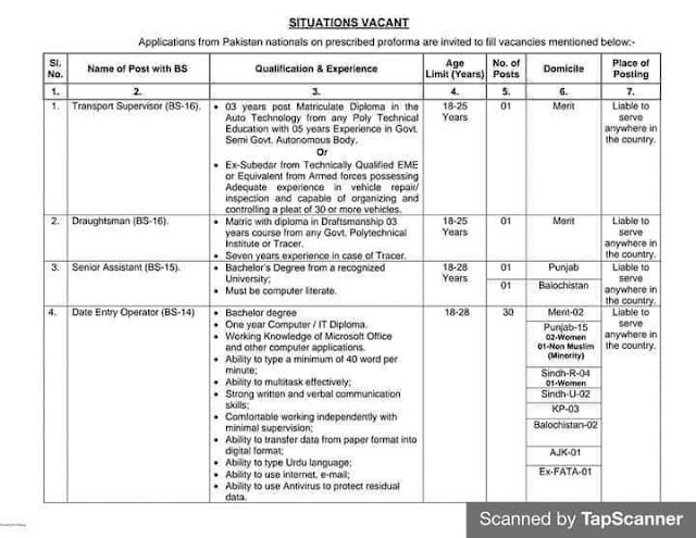 Election Commission Of Pakistan Jobs 2021For Data Entry Operator, Junior Assistant & more