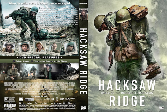 Hacksaw Ridge DVD Cover