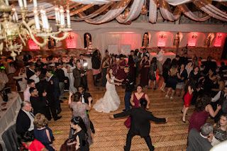 Couple Enjoying More Fun On The Dance Floor