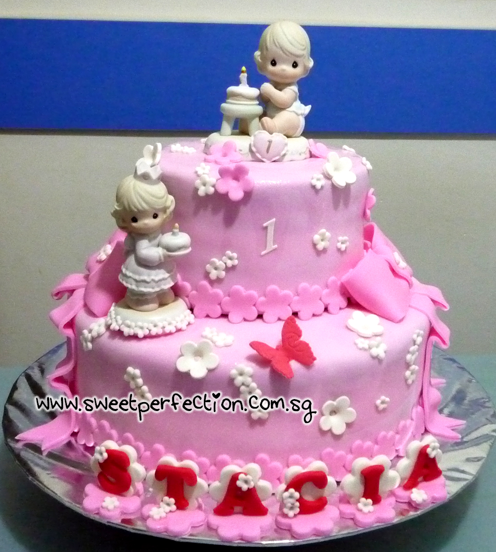 Precious Moments Baby Shower Cakes: Sweet Perfection Cakes Gallery: Code PM05