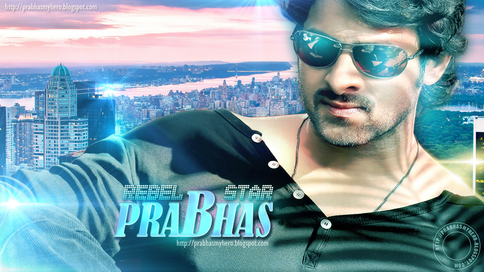 Stylish Prabhas Hq Wallpaper In Rebel: Prabhas Movie Title Changed