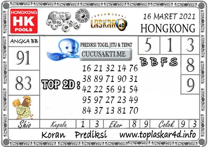 Prediksi Togel HONGKONG LASKAR4D 16 MARET 2021