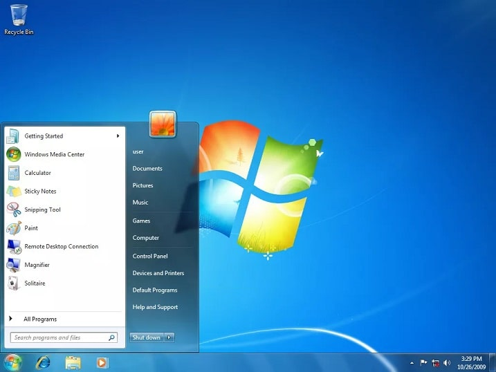 Tampilan Windows 7 | Gaptogeek