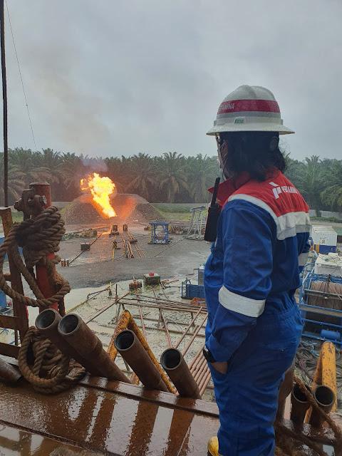 Pengeboran Eksplorasi West Penyu Temukan Cadangan Gas