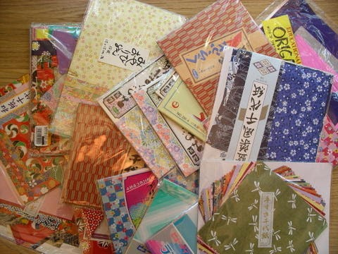 Origami Paper, size 15x15 cm, 80 g, 50mixed sheets » Packlinq | 360x480