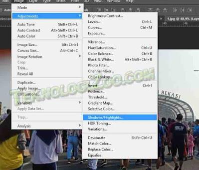 cara memperbaiki gambar yang pecah di photoshop