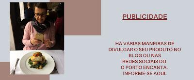 bannner de publicidade de produtos e serviços no blog o Porto encanta