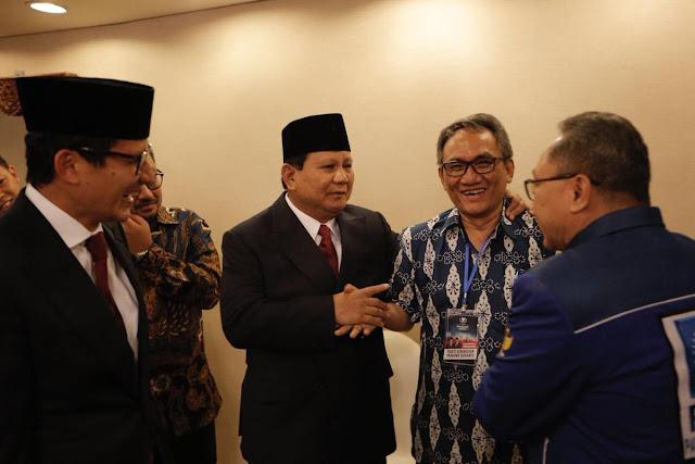 MAR, Rachmawati, dan Tommy Soeharto Kawal Prabowo-Sandi di Bidakara