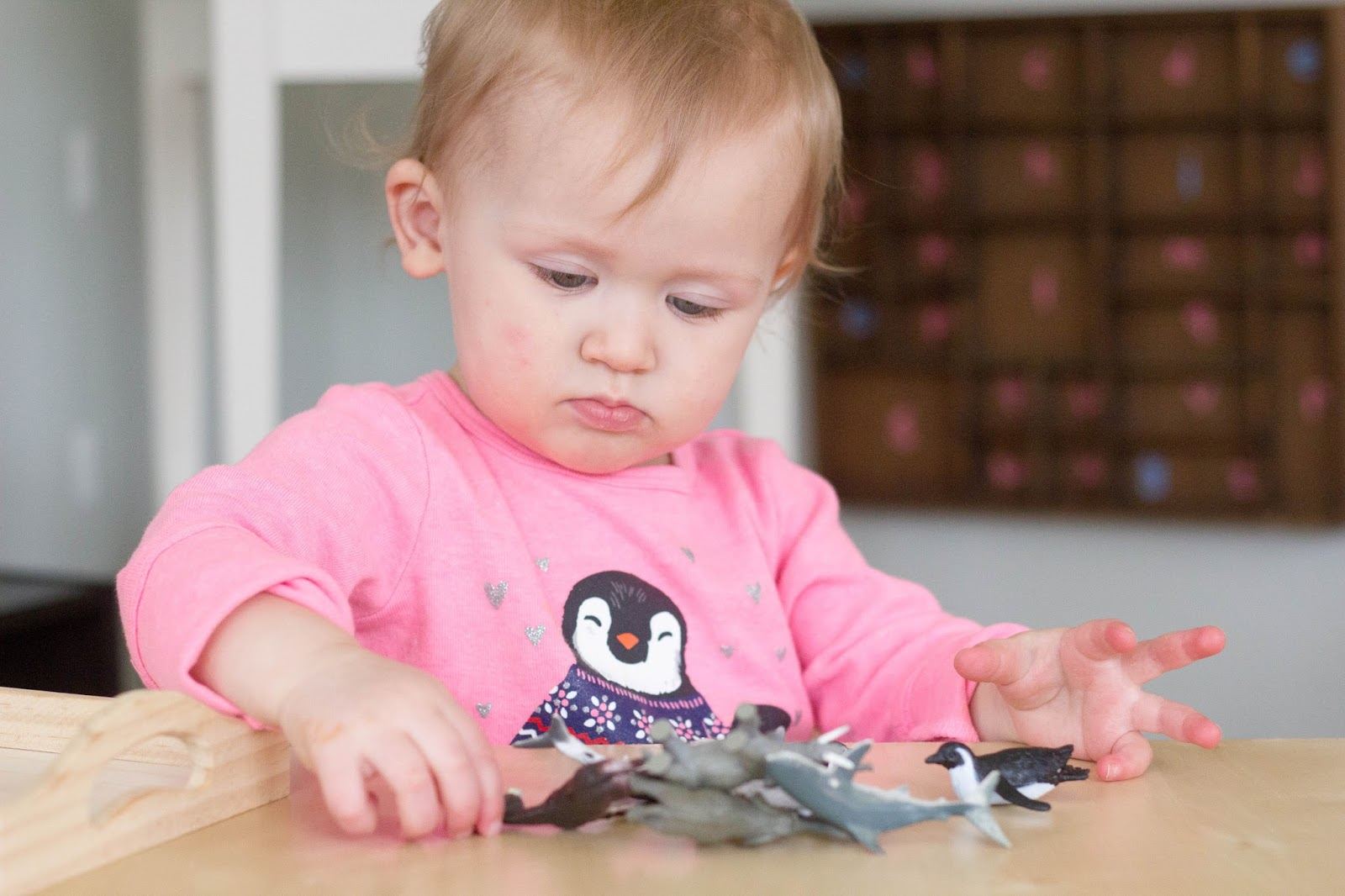Montessori friendly activities for toddlers A to Z!